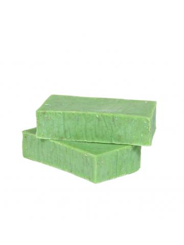 Натуральное мыло с зеленой...